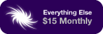Everything Else: Donate $15 Every Month
